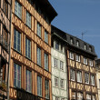Normandy, picturesque old historical house in Rouen — Stockfoto