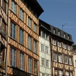 Normandy, picturesque old historical house in Rouen — Foto de Stock