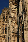 France, cathedral tower bell of Rouen in Normandy — Stock Photo