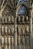France,the cathedral of Rouen in Normandy — Stock Photo