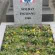 France, old tomb in Les Mureaux cemetary — Stockfoto
