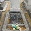 France, old tomb in Les Mureaux cemetary — Stock Photo