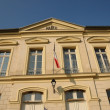Stock Photo: Ile de France, the city hall of Themericourt