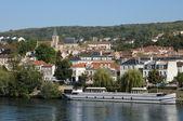 France, the city of Triel sur Seine — Stock Photo