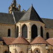 France, the exterior of the Pontoise cathedral - Foto Stock