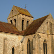 Ile de France, the old church of Seraincourt — Stock Photo