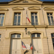 Ile de France, the city hall of Themericourt — Stock Photo