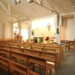 Val d Oise, Sainte Claire church in Vaureal — Stockfoto