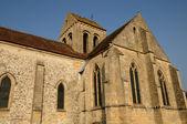 Ile de france, seraincourt eski kilise — Stok fotoğraf