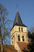 Ile de France, the gothic church of Themericourt — Stock Photo