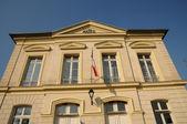 Ile de France, the city hall of Themericourt — Stock Photo