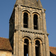 Ile de France, the old church of Jouy Le Moutier — Stock Photo #9809707