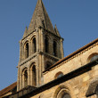 Stock Photo: Ile de France, the old church of Jouy Le Moutier
