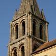 Ile de France, the old church of Jouy Le Moutier — Stock Photo