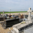 Val d Oise, old tomb in Courdimanche cemetery -  