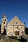 Ile de France, the old church of Villers en Arthies — Stock Photo