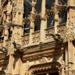 France, gothic courthouse of Rouen in Normandy — Stockfoto
