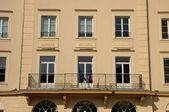 Ile de france, el ayuntamiento de vaureal — Foto de Stock