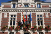 France, the historical city hall of Villers ur Mer — Stock Photo