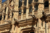 France, gothic courthouse of Rouen in Normandy — Stock Photo