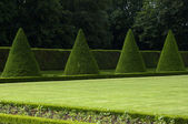 France, formal garden of the castle of Sceaux — Stock Photo