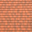 Stock Photo: Horizontal picture of tiles on a roof