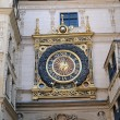 Normandy, Le Gros Horloge, the symbol of Rouen — Stock Photo