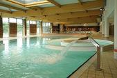 Francia, interni di una piscina a dourdan — Foto Stock