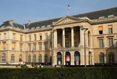 France, the city hall of Rouen in Normandie — Stock Photo