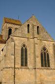 Ile de france, stary kościół seraincourt — Zdjęcie stockowe