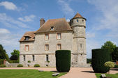 Frankrijk, het kasteel van vascoeuil in normandië — Stockfoto