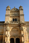 Ile de France, the renaissance church of Vetheuil — Stock Photo