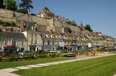 The town of Pontoise in Val d Oise — Stock Photo