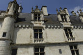 France, the castle of Loches in Indre et Loire — Stock Photo