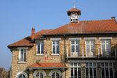 Ile de France, the city hall of Chapet — Stock Photo
