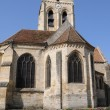 Stock Photo: France, church of Auvers sur Oise