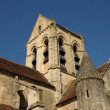 France, the church of Auvers sur Oise — 图库照片