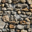 France, detail of a stone wall - 图库照片
