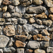 France, detail of a stone wall - ストック写真