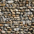 France, detail of a stone wall - Photo