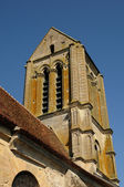 Ile de France, the old church of Hérouville — Stock Photo