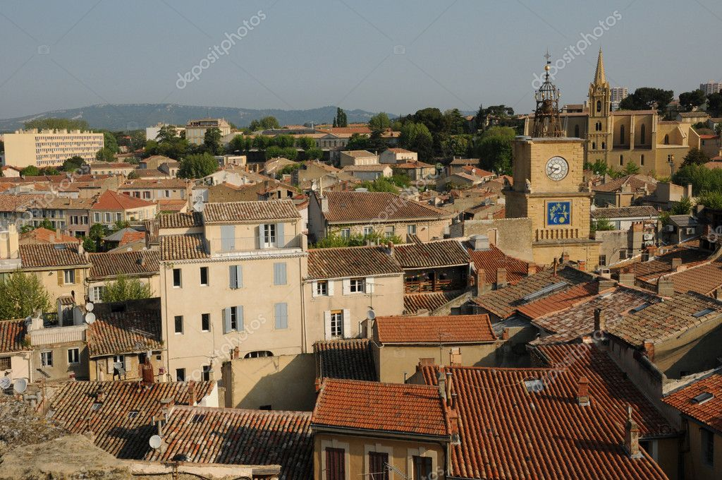 France, Bouche du Rhone, city of Salon de Provence — Stock Photo #9934070