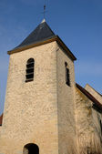 Ile de France, the old church of Flins — Stock Photo