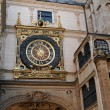 Normandy, Le Gros Horloge, symbol of Rouen — Stock Photo #9951561