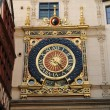 Normandy, Le Gros Horloge, the symbol of Rouen - Stock Photo