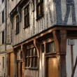 Normandy, the National Museum of Education in Rouen - Stock Photo
