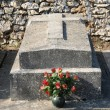 France, the cemetery of Boisemont in Val d Oise — Stock Photo