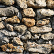 France, detail of a stone wall — Stock Photo
