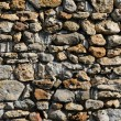 France, detail of a stone wall - Stock Photo