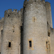 France, the medieval castle of Roquetaillade in Gironde — Foto de Stock